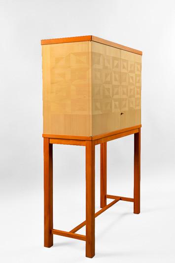 Hemlock Parquet Cabinet-1