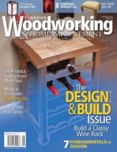 Canadian Woodworking April May 2012 - cover image